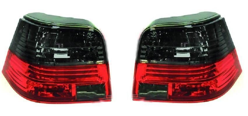 Achterlichten VW Golf IV Smoke/Rood helder set