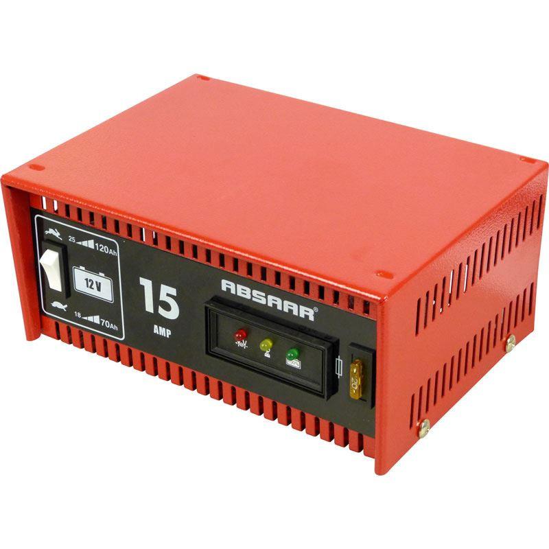 Absaar acculader 15Ampere 12Volt NORMAAL/S  | AA 635615