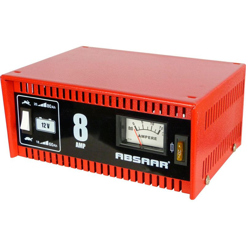 Absaar acculader 8 Ampere 12Volt CHMVR    AA 635608