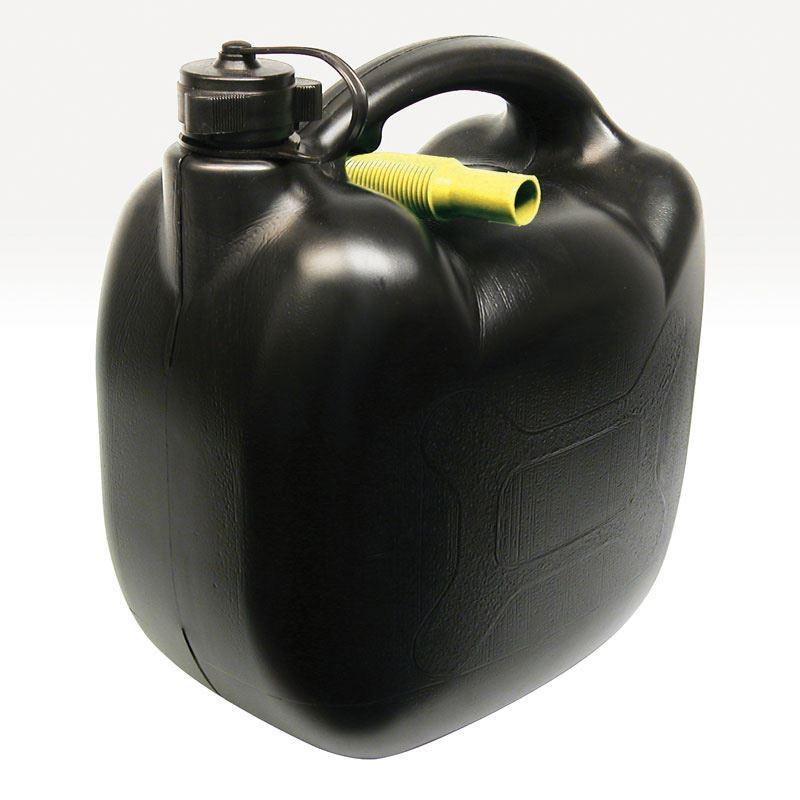 Benzinekan 10L 580gr zwart UN/BAM | BC 050871