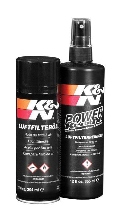 K&N filter onderhoudskit - Reiniger + Olie set I KN 99-5000