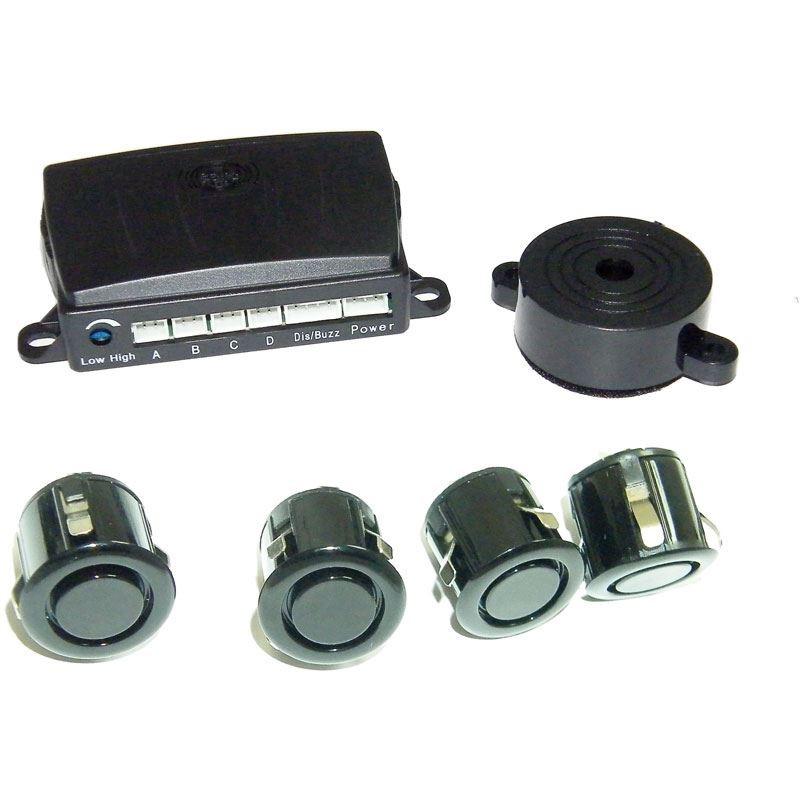 ParkSafe Achteruitrijdradar (geschikt voor trekhaak) inclusief 4 Sensoren/Buzzer (12/24V) | PA PS540