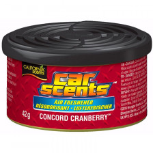 California Scents Luchtverfrisser - Concord Cranberry - Blikje 42gr | CD CRANBERRY