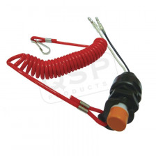 Emergency cut-off switch safety wire | QE6019