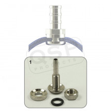 Self-Sealing hose fitting - 5mm pilar SS | QSEALING 1