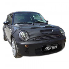 Motorkap Steenslaghoes New Mini Cooper 2007- zwart (motorkap + bumper)  | PB 901469